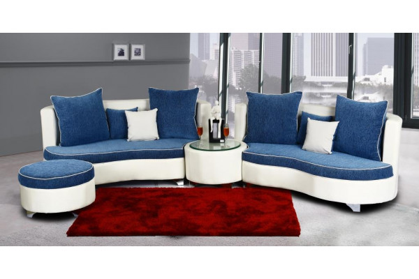 Rio Sofa Set Blue