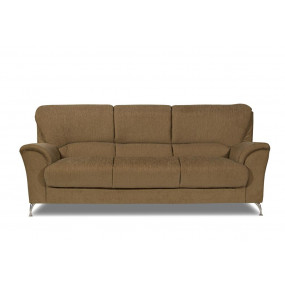 Piper Three Seater Sofa (Brown)